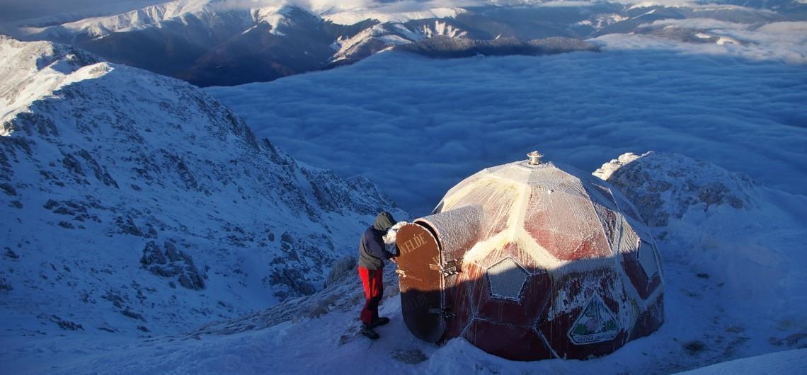 Mountain Shelter in Piatra Craiului