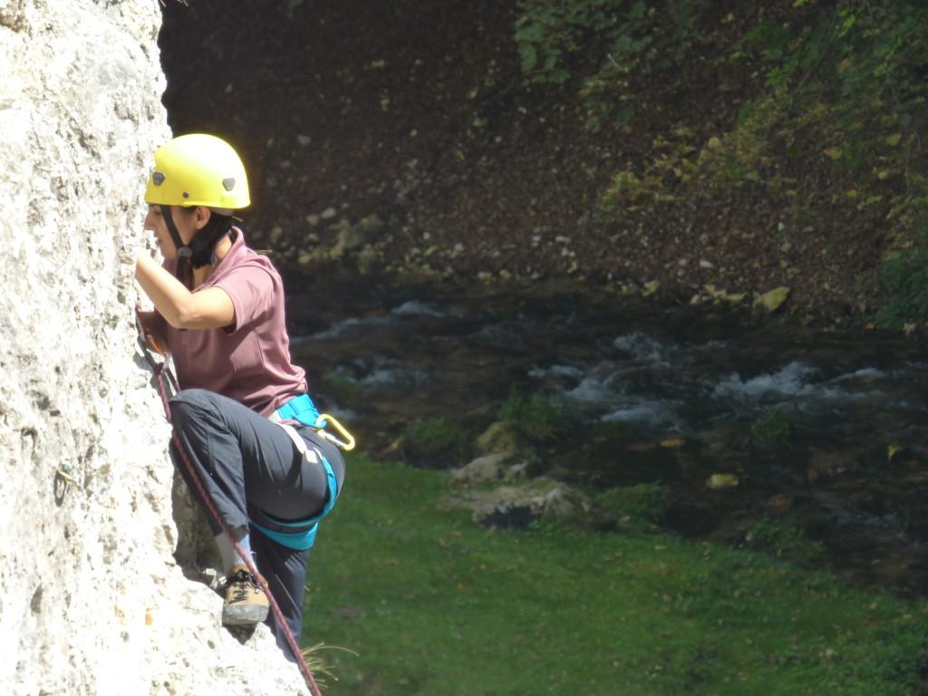 Sport Climbing in Dambovicioara Gorges