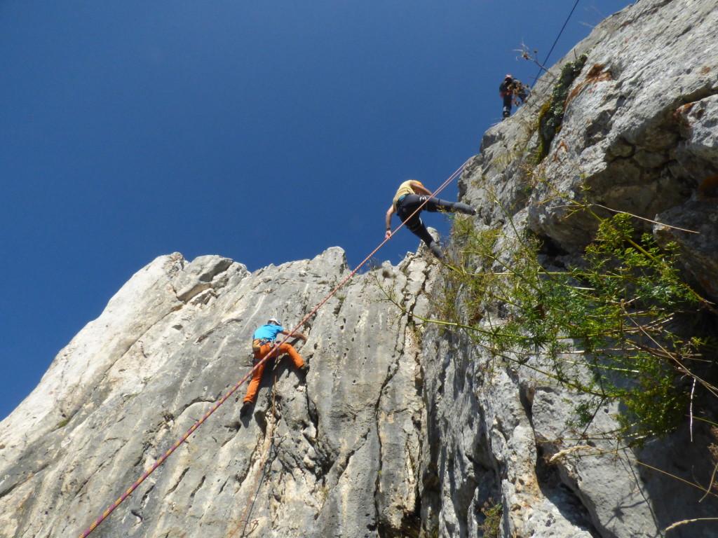 Climbing in Romania