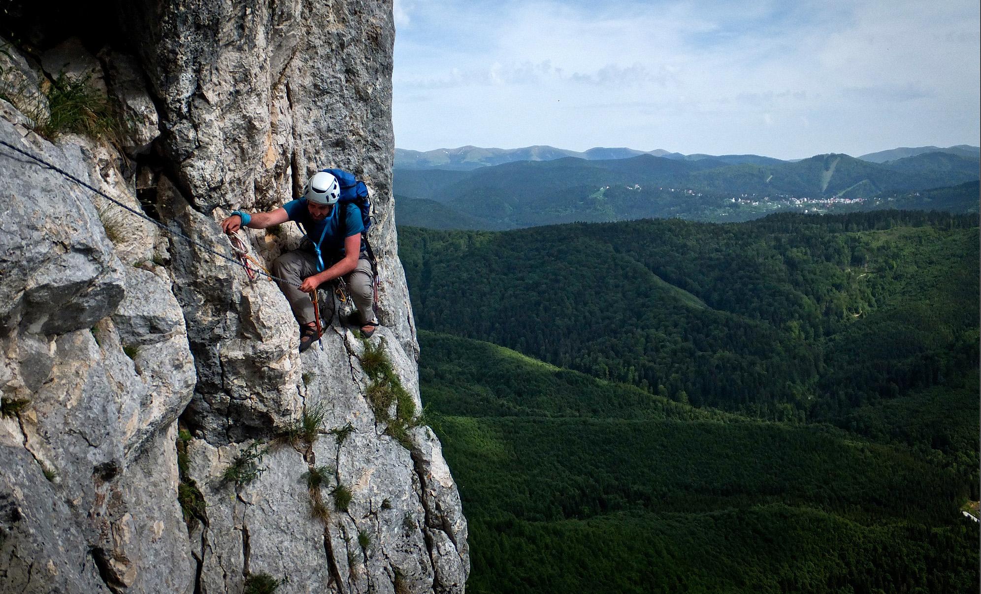 Day Tour – Multi Pitch Climbing in Romania