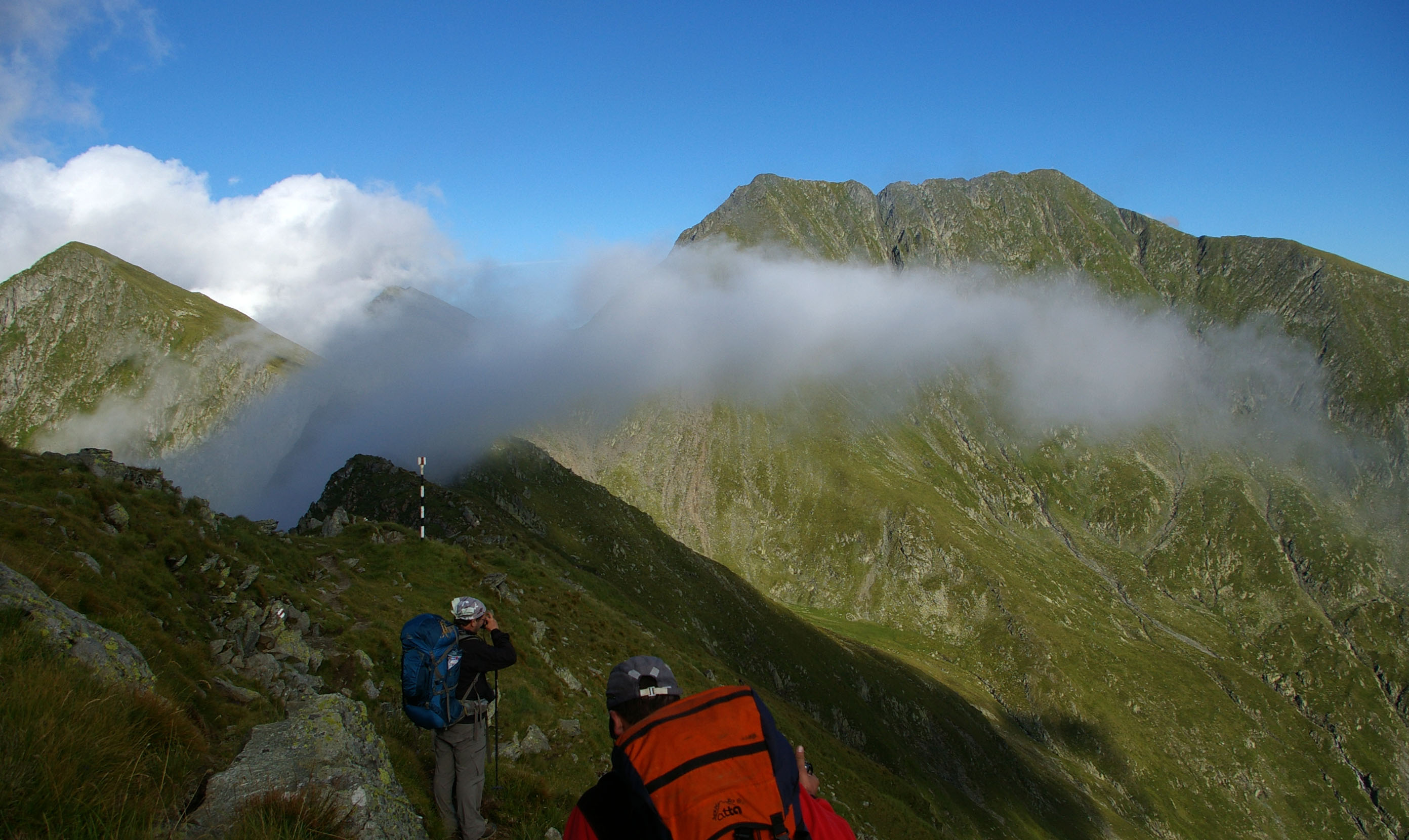 On top of Romania's Two Highest Peaks, in Transylvanian Alps