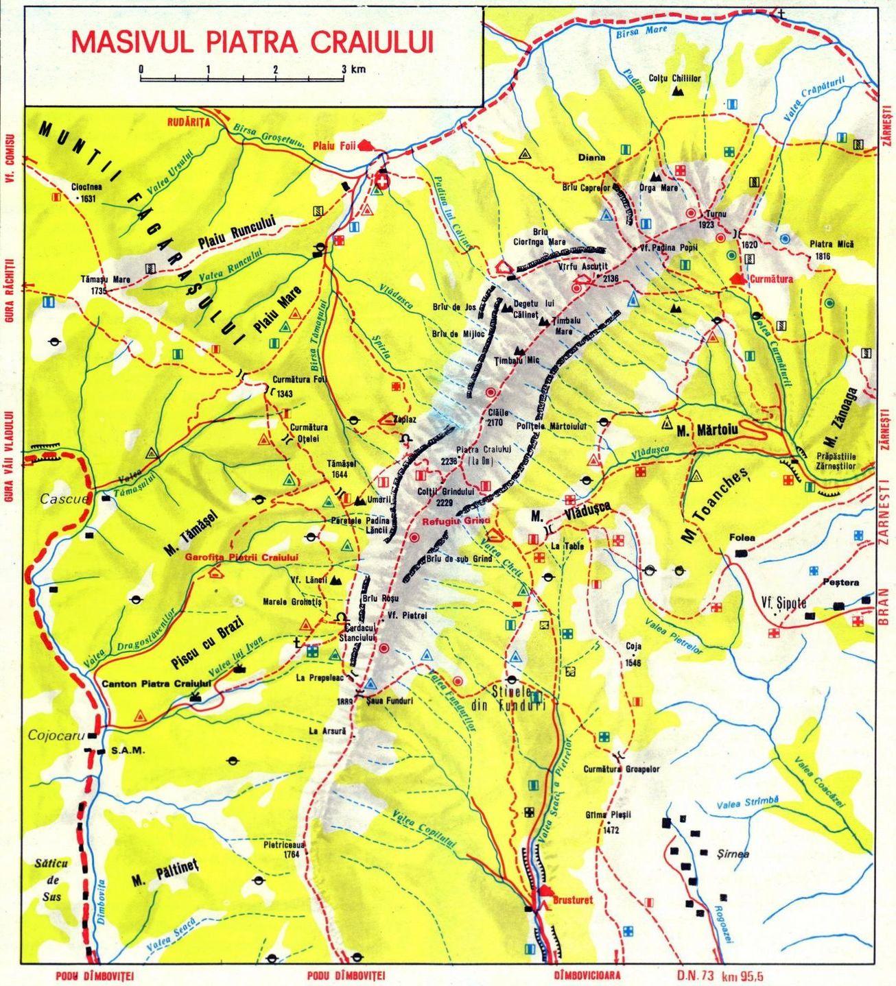 Harta Piatra Craiului